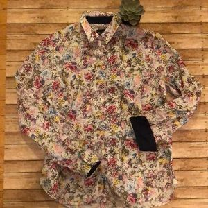 Barbour Country Cottage Prints 10 button down